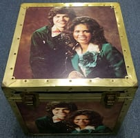 Donny Marie Osmond Trunk Footlocker Chest Storage