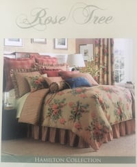 Rose Tree King Bedding Pillows Curtains Leesburg, 20175