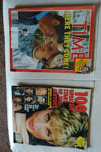 two mags. W/princess Diana
