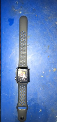 black Apple Watch with black sports band Washington, 20024