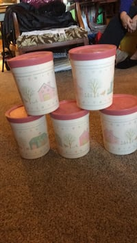 Canisters 5 for $8 Colorado Springs, 80905