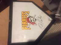 Charlie Morton Signed Home Plate MLB Authentication Pittsburgh, 15203