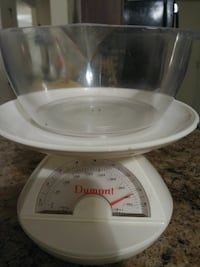 white Dumont analog weight scale Landover Hills, 20784