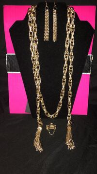 Gold necklace set Washington, 20020