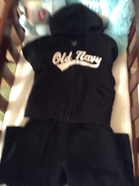Old navy black and white hoodie Temple Hills, 20748