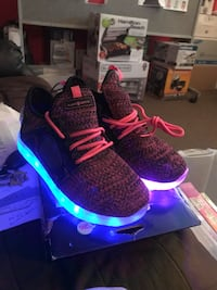 Light up shoes. Size 3