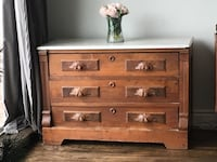 Delivery- antique Victorian dresser or entranceway table Toronto, M9B 3C6