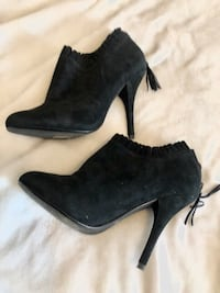 Black Suede Booties from Aldo - Size 8 Hamilton, L8N 1V7