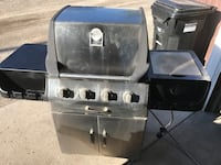 Stainless steel outdoor gas grill Calgary, T2A 0Y5