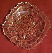 Crystal ornately decorated dish Rockville, 20853