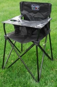 Ciao Baby Portable High Chair (black).