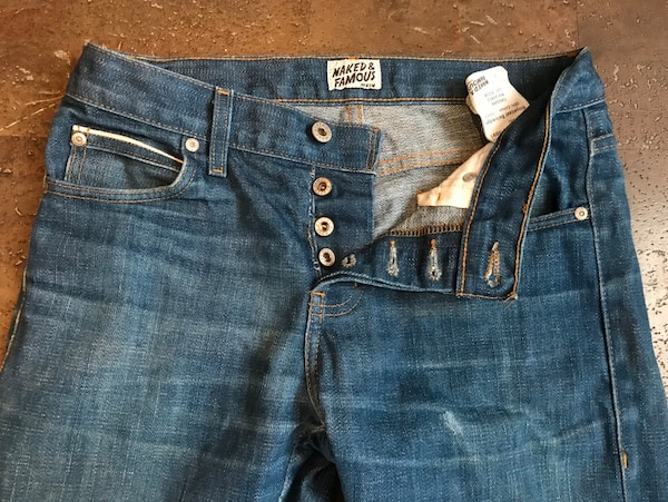8f79f879620b Used Naked and Famous Skinny Guy Royalcast Selvedge for sale in Calgary -  letgo