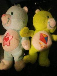 Care Bears plushes