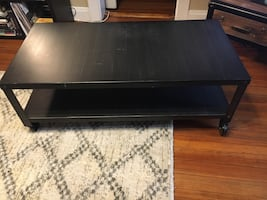 Brushed Metal Coffee Table