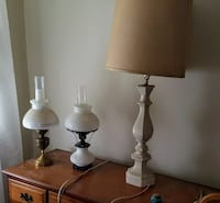 Lamps. Modern, vintage and antique