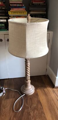 white and gray table lamp Alexandria, 22314