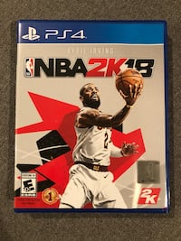 NBA 2K18 PS4 Germantown, 20876