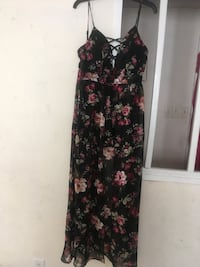 black and pink floral sleeveless dress may do $15 the lowest Fayetteville, 28312