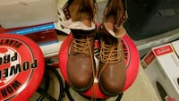 pair of brown leather work boots Odessa, 79762