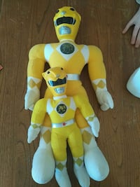 Vintage1993 power ranger dolls Sherwood Park, T8E 1B5
