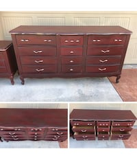 Dresser with nine drawers Boise, 83709