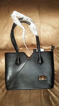 black and gray leather tote bag 362 mi