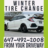 winter tire change Mississauga