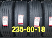 4 used tires 235/60/18 Michelin (A) Houston, 77047