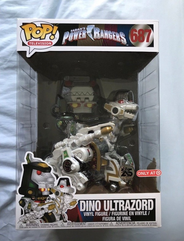 Dino Ultrazord Funko Pop Target Exclusive