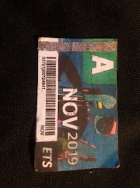 nov bus pass Edmonton, T5A 0Y1