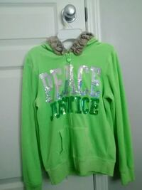 Lime green Justice sweater Sherwood Park, T8A 5Y5
