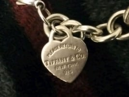 Tiffany bracelet 925 Stirling silver great for valentines day gift
