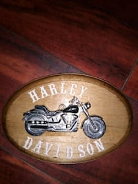 Harley Davidson bike plaque Philadelphia, 19149
