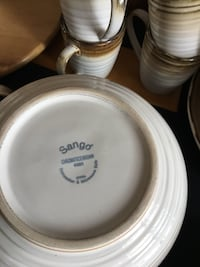 4 place setting of Sango stoneware dishes St Catharines, L2M 6W5