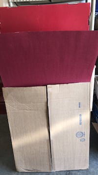 BRAND NEW CASE OF BURGANDY POSTER BOARD 25 PACK