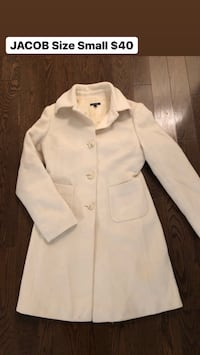 JACOB coat. Cream collie. Size extra small Laval, H7S 2K2