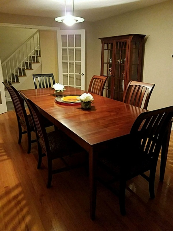 Shaker Style Cherry Dining Room Table