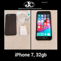 iPhone 7 Matte Black, 32gb! Unlocked For Any Carrier! PRICE IS FIRM!
