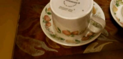 Wedgewood cups and saucers