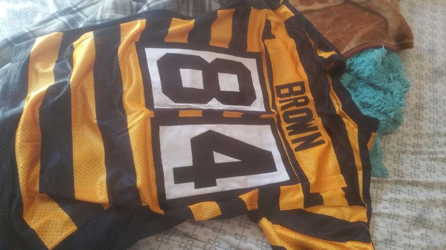 54cd7e681e1 ... canada used pittsburgh steelers bumblebee jersey for sale in bethlehem  letgo 66a3f a641d