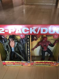 2 Pack Doc Ock and Spider-Man Action figures in Original Packaging Toronto, M6L 1L1