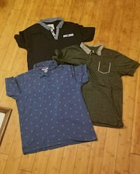 3 mens large/slim fit XL shirts 2272 mi