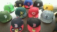 Mostly new fitted and snapback hats caps  New Bedford, 02740