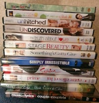DVD Movie Lot 2 - Romance  Calgary, T2Z 4W6