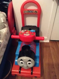 toddler's red and blue ride-on toy Sumter, 29150