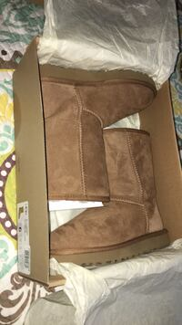 pair of brown suede boots Frederick, 21702