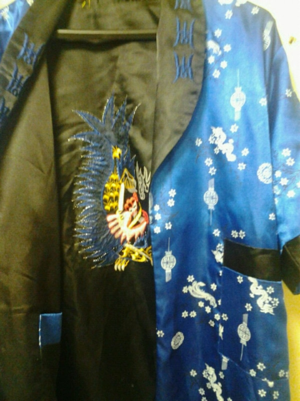Irreversible Japanese robe