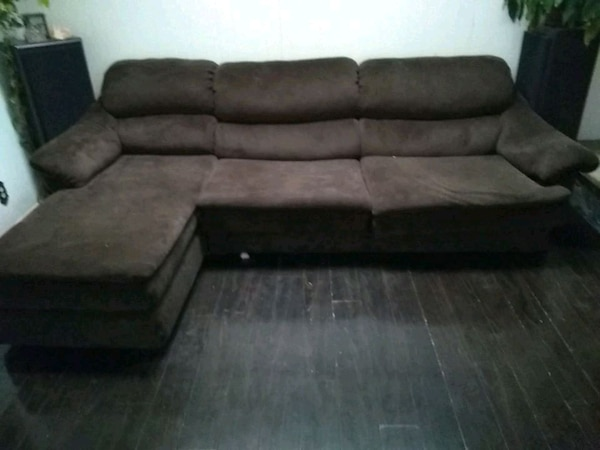 Used black and gray sectional couch for sale in Las Vegas - letgo