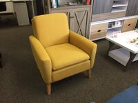 Accent Chair, Yellow, #D7904 Santa Fe Springs