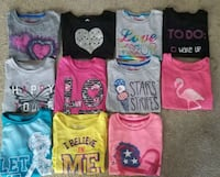 Girls 6/6x shirts,pants,pjs,sweaters and leotards Elgin